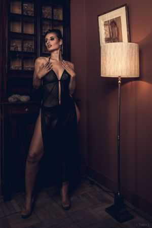Auteur model Ann faith - Boudoir shoot 2020