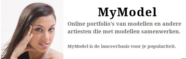 MyModel - portfolio's van fotomodellen en andere artiesten.
